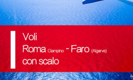 Voli Ryanair Roma Ciampino Faro con scalo offerta