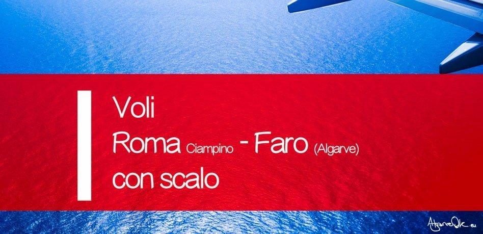 Voli Ryanair Roma Ciampino Faro con scalo