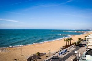 Spiaggia di Quarteira Portogallo