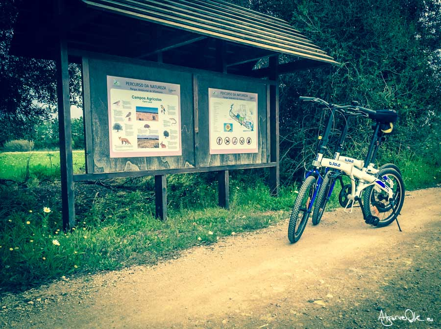 Percorso naturalistico di Vilamoura in Algarve bicicletta