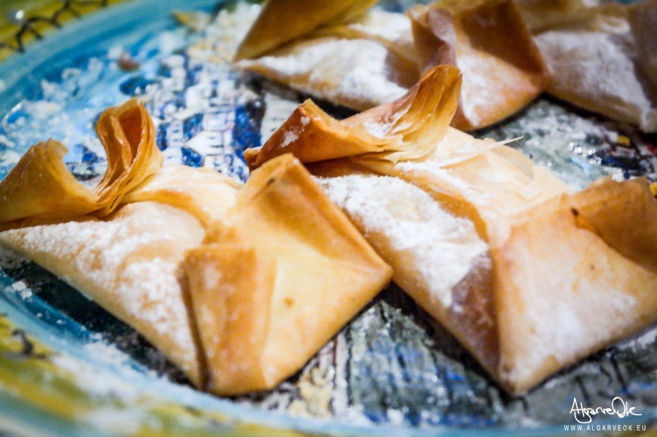 Dolci portoghesi e dolci in Algarve Portogallo