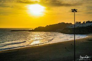 Algarve Portogallo tramonto ad Albufeira