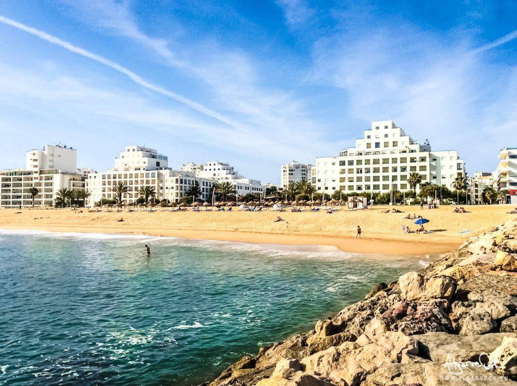 Lungomare vacanza a Quarteira spiagge