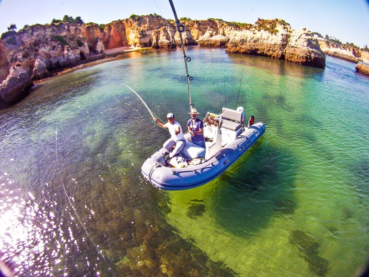 Pesca mosca Fly Fishing Algarve