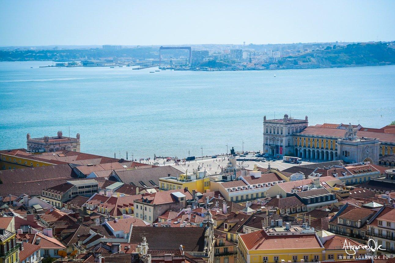 Crociera Portogallo Lisbona vista sul fiume