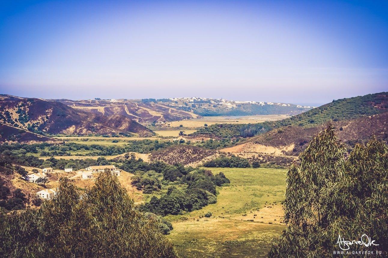 Panorama dal Castello di Aljezur