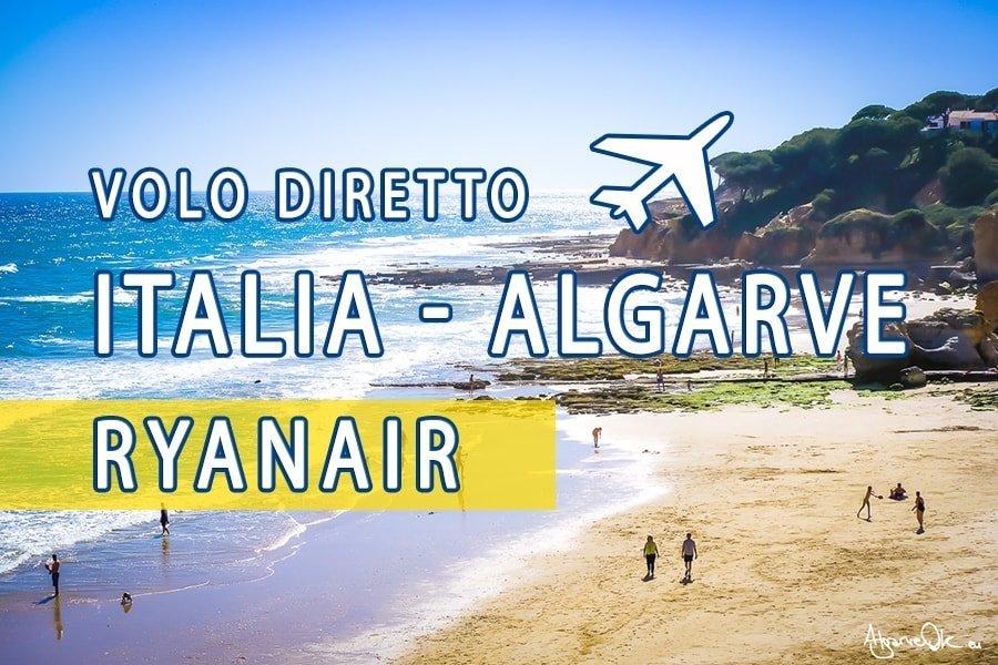 Voli diretti Italia Faro Portogallo Algarve Ryanair 2019