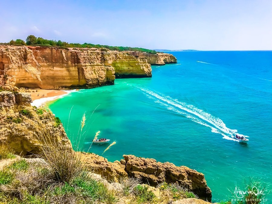 spiaggia Benagil Algarve Portogallo mare