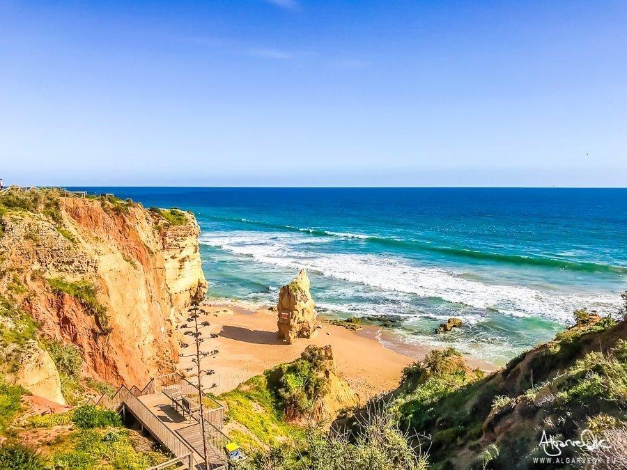 spiaggia Costa Portimao Algarve Portogallo