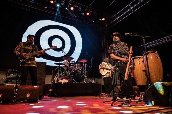 Festival Med Loule Algarve Bonga foto Luis da Cruz
