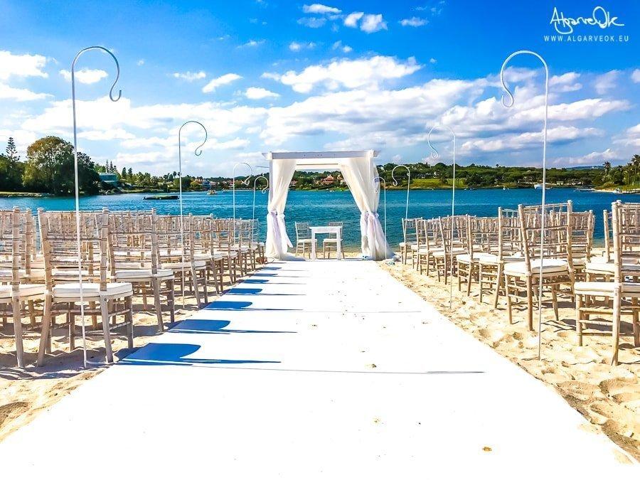 Sposarsi in spiaggia in Portogallo Algarve