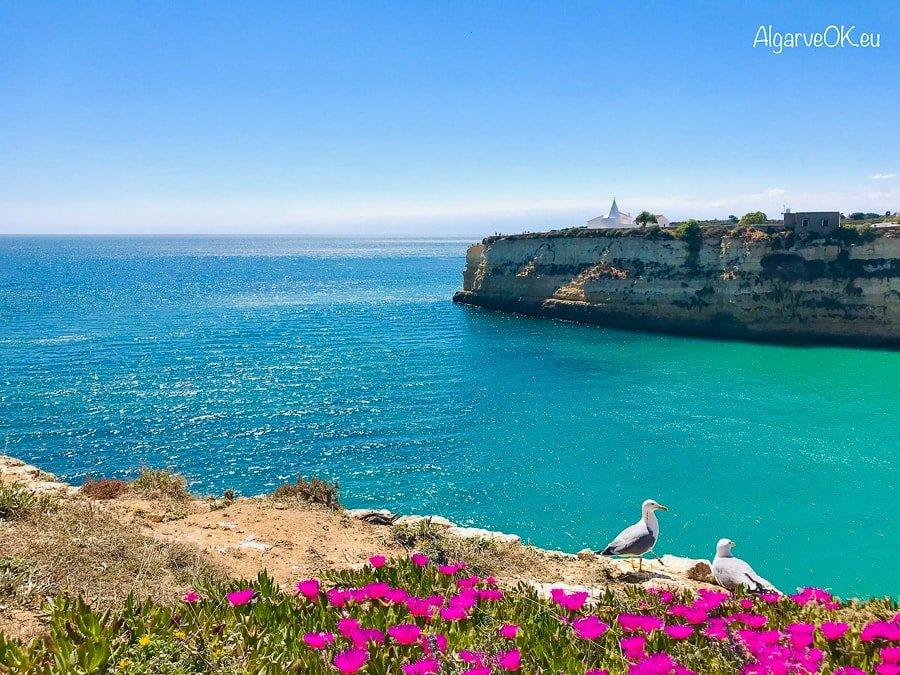 Algarve Portogallo panorama scogliere e mare