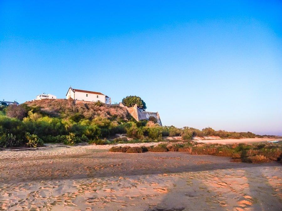 Cacela Velha in Algarve Portogallo