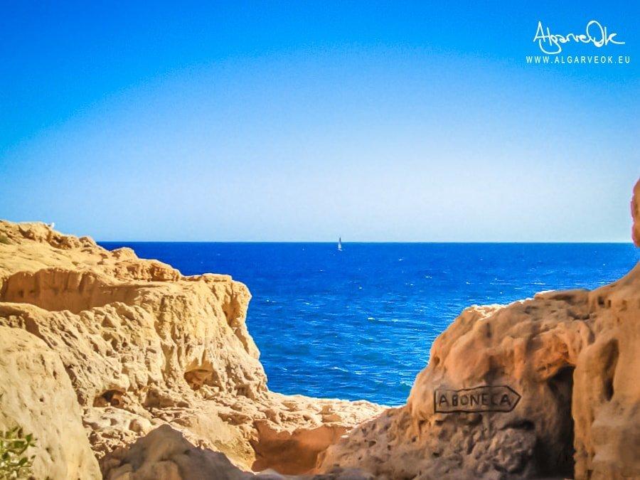 Carvoeiro Portogallo Algarve Aboneca costa