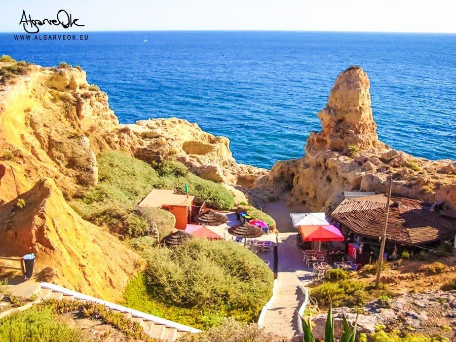 Carvoeiro Portogallo Algarve costa