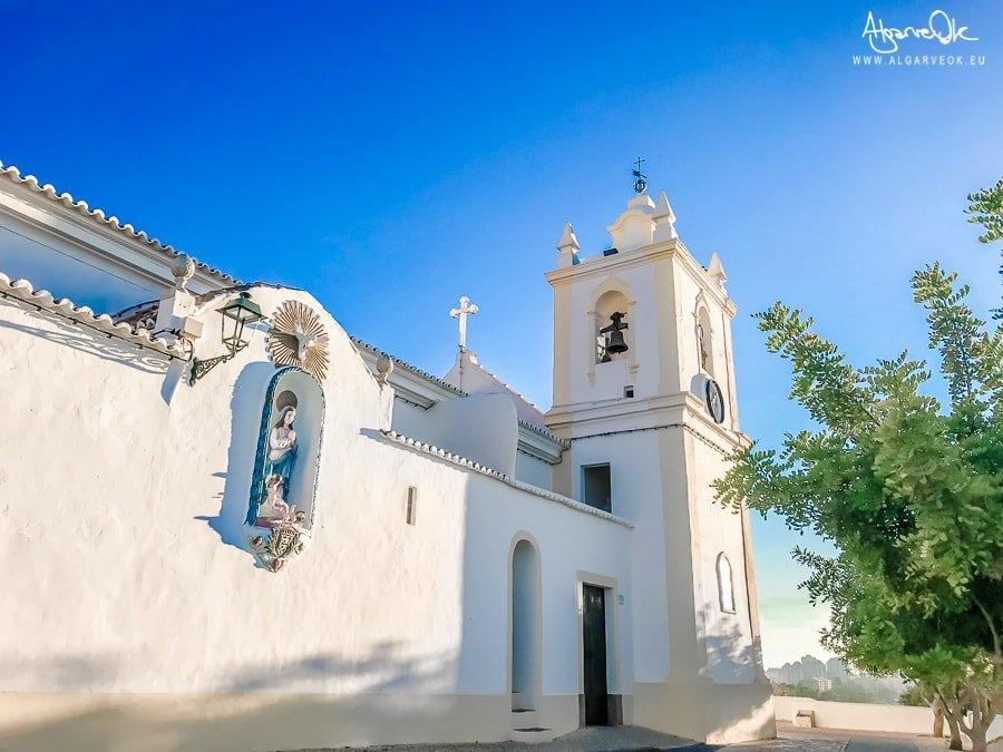 Ferragudo Portogallo Algarve chiesa Miradouro