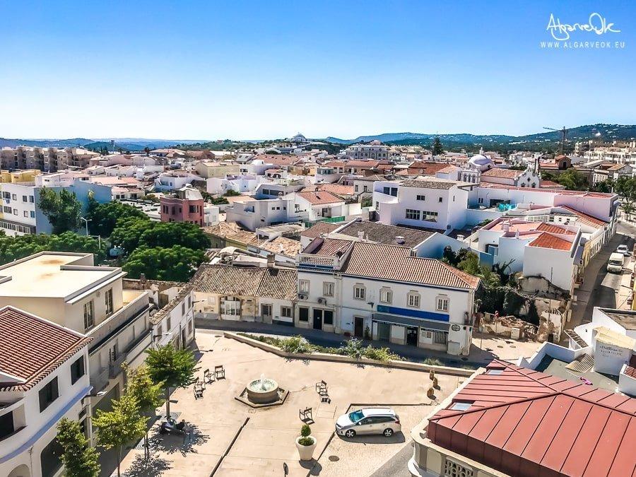 Loulé Portogallo Algarve panorama dal castello sul centro