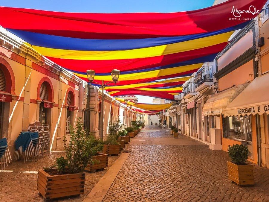 Loulé Portogallo Algarve centro stradine