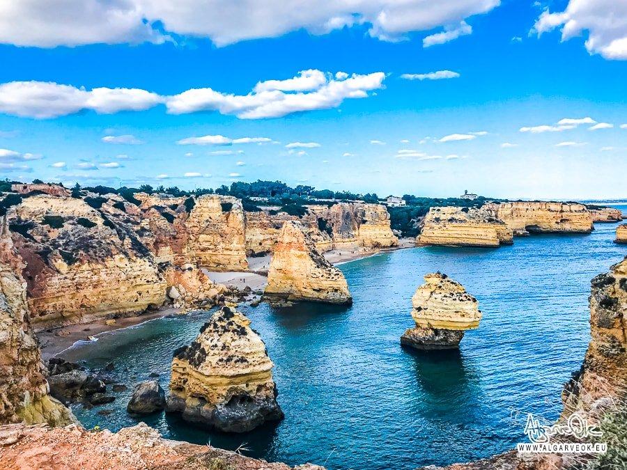 Praia Marinha Algarve Portogallo immagini della spiaggia