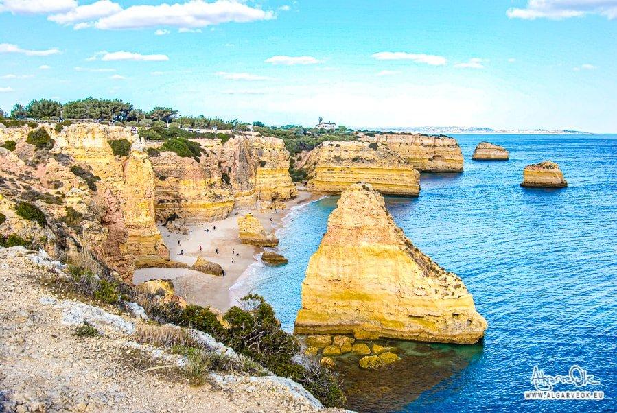 Praia Marinha come arrivare