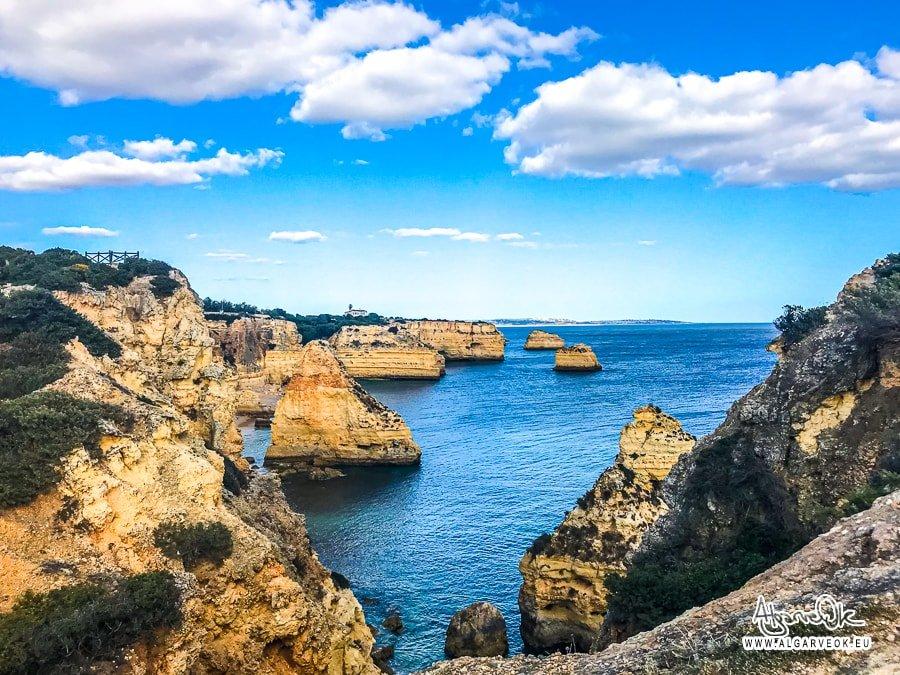 Praia de Marinha foto Algarve scogliere